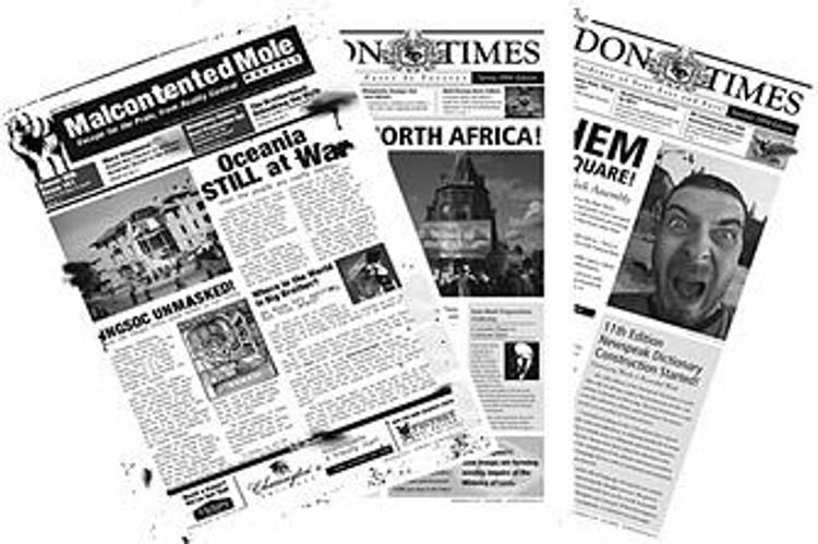 1984 Headlines Poster Set