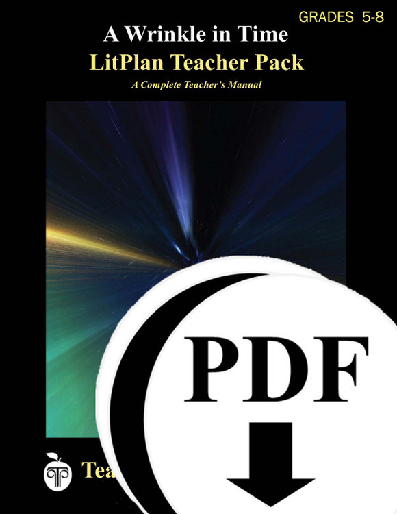A Wrinkle in Time LitPlan Lesson Plans (Download)