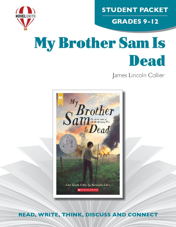 My Brother Sam Is Dead Novel Unit Student Packet