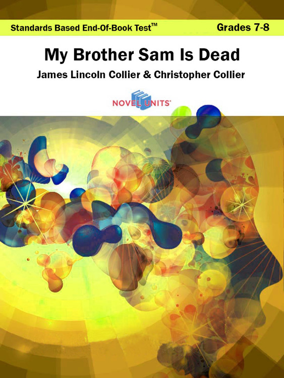 My Brother Sam Is Dead Standards Based End-Of-Book Test