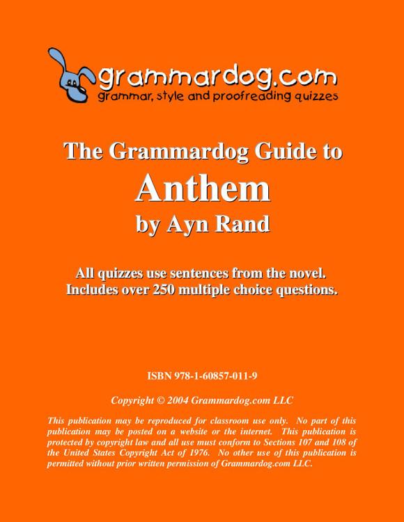Anthem Grammardog Guide