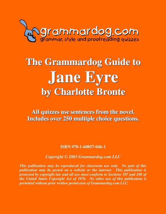 Jane Eyre Grammardog Guide