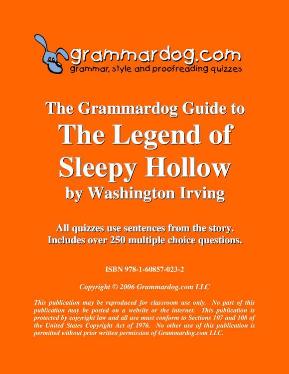 The Legend of Sleepy Hollow Grammardog Guide