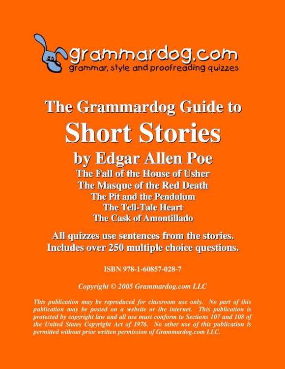 Poe Short Stories Grammardog Guide
