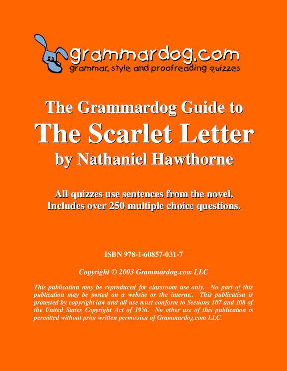 The Scarlet Letter Grammardog Guide