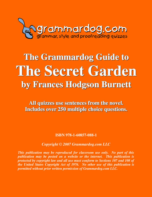 The Secret Garden Grammardog Guide