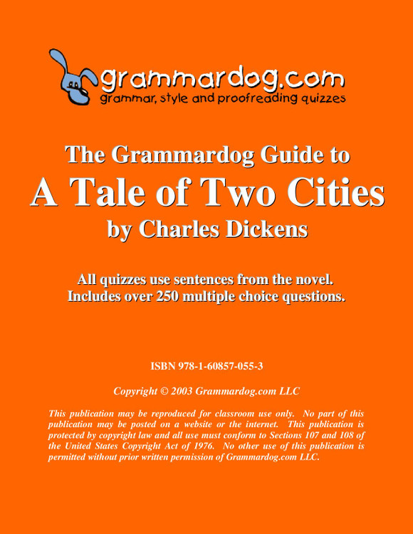 A Tale Of Two Cities Grammardog Guide