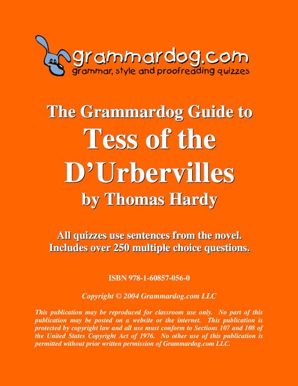 Tess of the d'Urbervilles Grammardog Guide