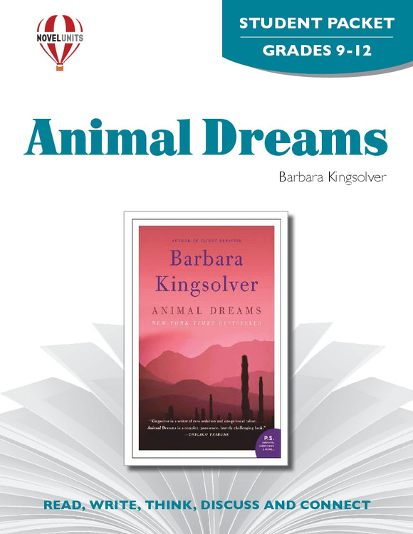 Animal Dreams Novel Unit Student Packet