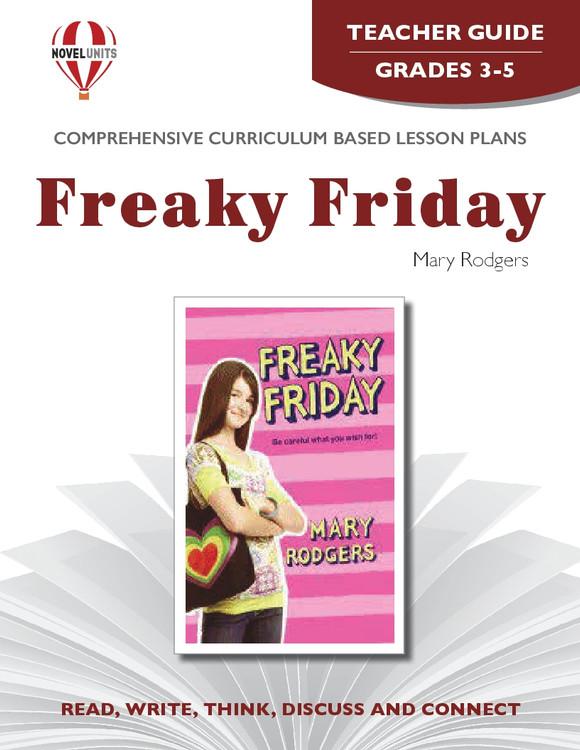 Freaky Friday Novel Unit Teacher Guide