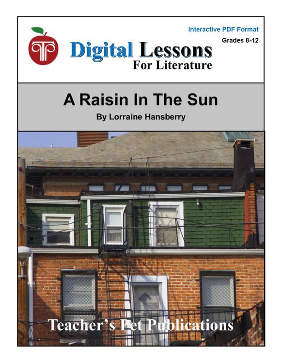 A Raisin In The Sun Digital Student Lessons
