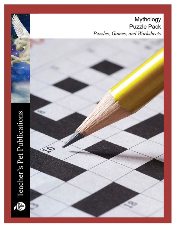 Mythology Puzzle Pack Worksheets, Activities, Games