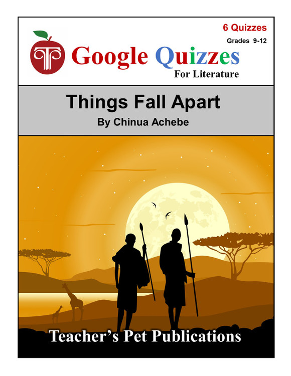 Things Fall Apart Google Forms Quizzes