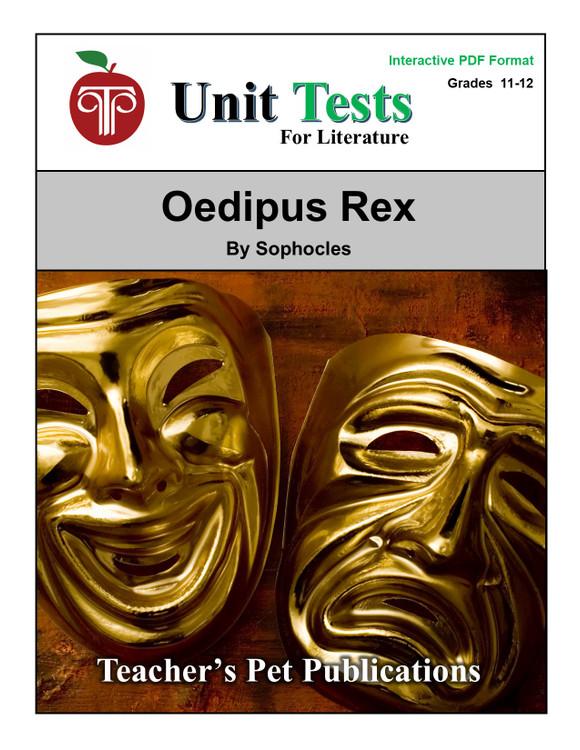 Oedipus Rex Interactive PDF Unit Test
