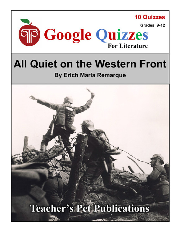 All Quiet on the Western Front Google Forms Quizzes