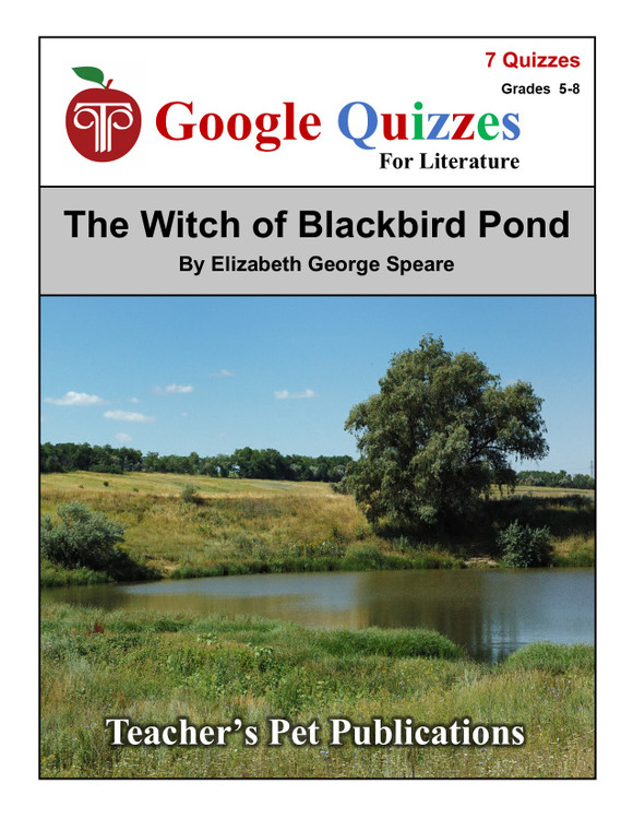 The Witch of Blackbird Pond Google Forms Quizzes