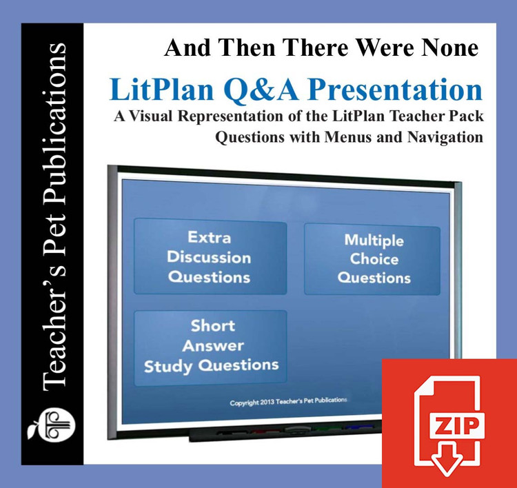 And Then There Were None Study Questions on Presentation Slides | Q&A Presentation