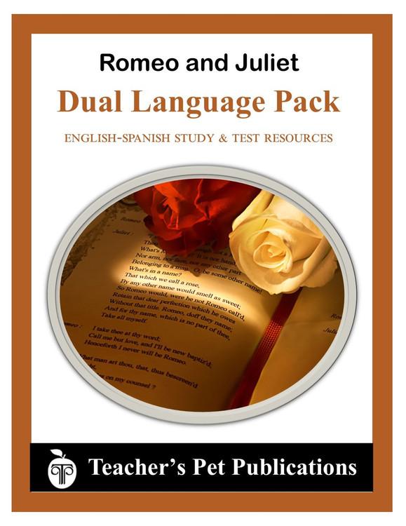 Romeo and Juliet Dual Language Pack