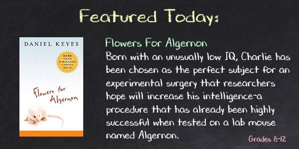 Flowers for Algernon by Daniel Keyes Teacher Guide, Lesson Plans, Novel Unit