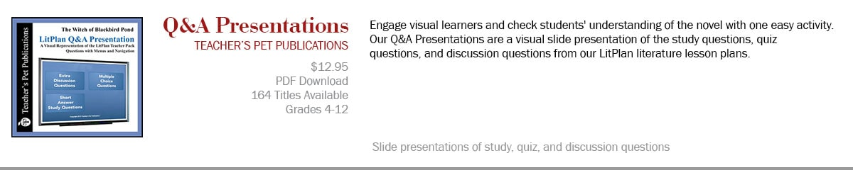 Q&A Presentations--slides with novel study questions
