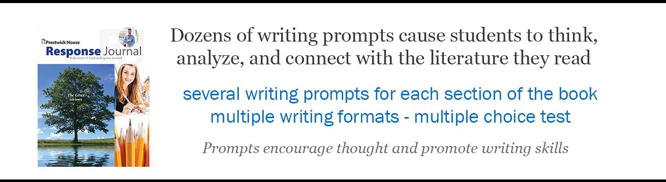 Novel Reader Response Journals