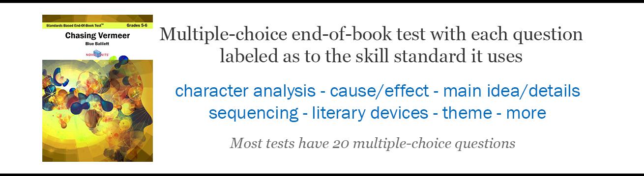 Standards Based Tests For Novel Units