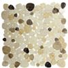 Bella Glass Tiles Holy Trail HT-149 marble mosaic Mount Zion