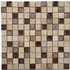 Bella Glass Tiles Tranquil Series 1 x 1 Rocky Beach