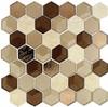 Bella Glass Tiles Queens Lair Honey Harvest