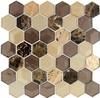 Bella Glass Tiles Queens Lair Wooden Hornet