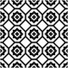 Bella Glass Tiles Retro Nueve Radiant Frame Encaustic Look