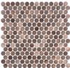 Bella Glass Tiles Urban Jungle Brown Cayman UJ-665