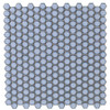 Soho Studio Simple Rimmed Hexagon Azure