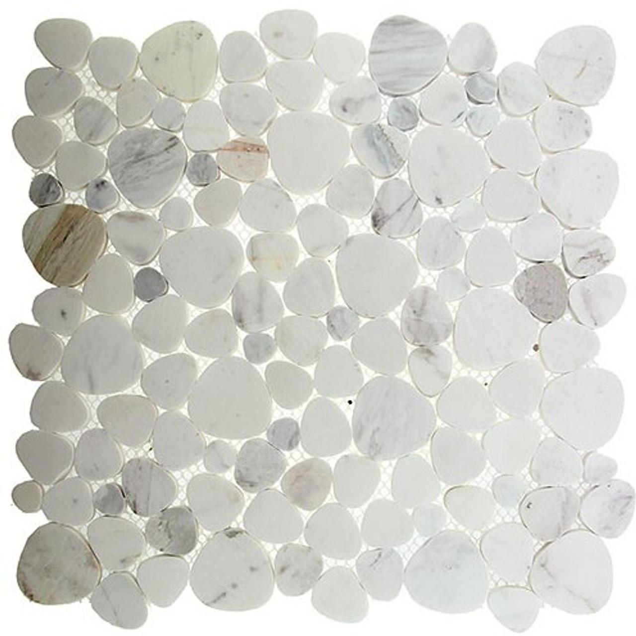 Bella Glass Tiles Holy Trail HT-147 marble mosaic Yam Hamelach