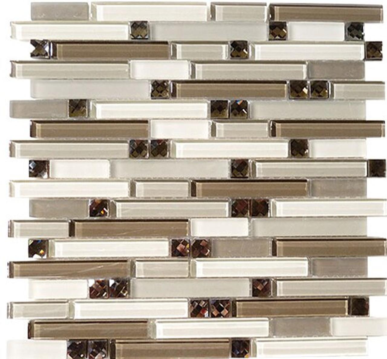 Bella Glass Tiles Symphony Series Calm Grey