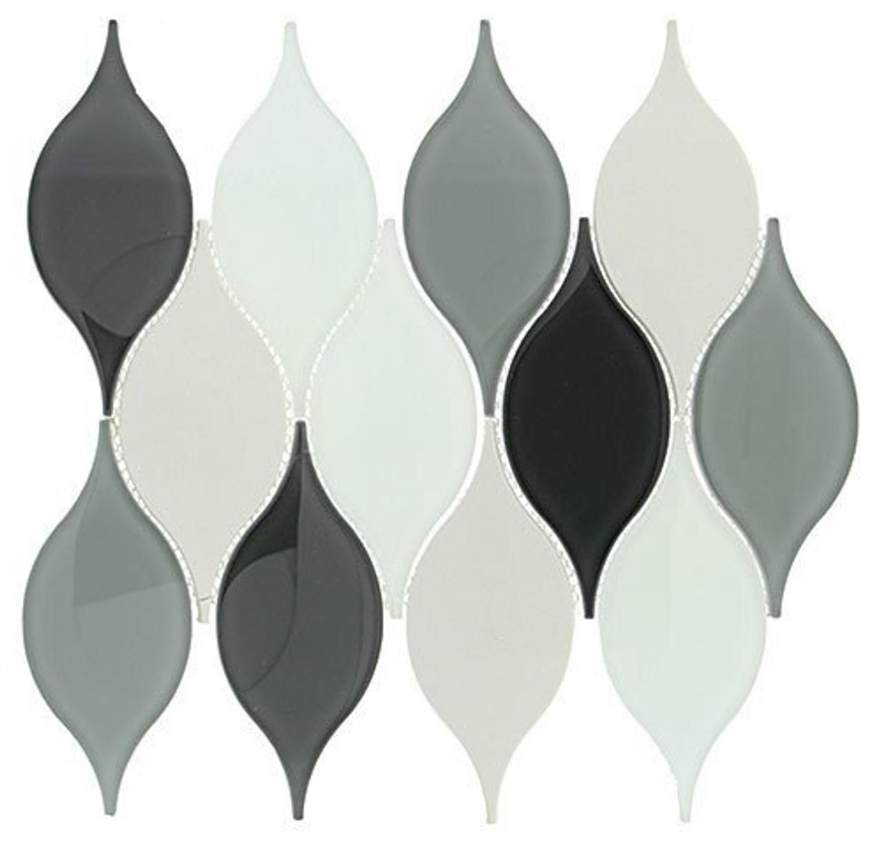 Bella Glass Tiles Windchime Series Morning Melody