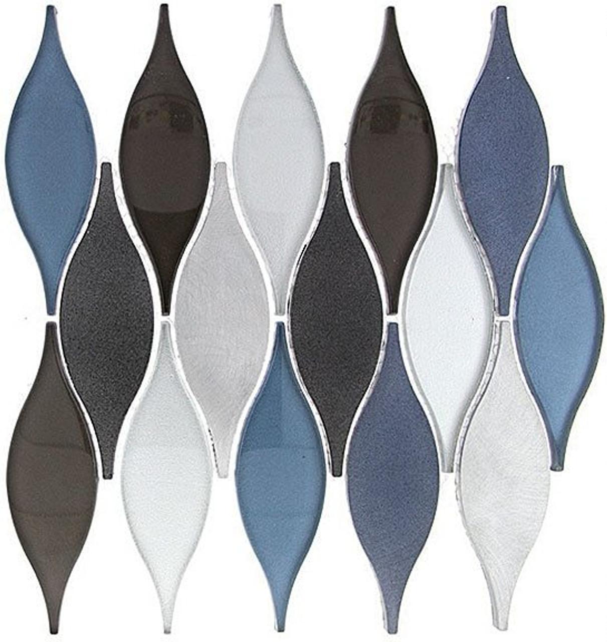 Bella Glass Tiles Chandelier Series Wild Ocean