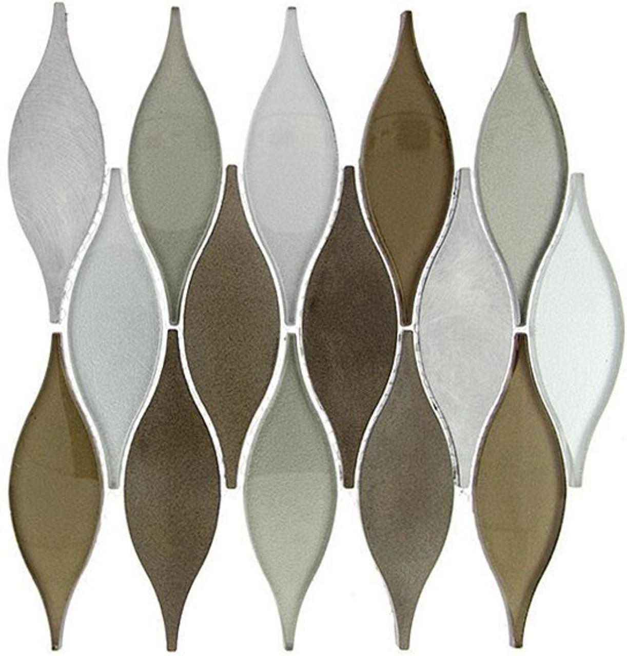 Bella Glass Tiles Chandelier Series Summer Sandcastle