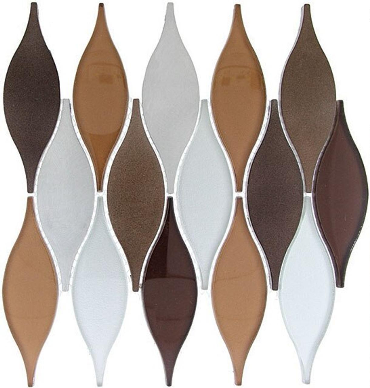 Bella Glass Tiles Chandelier Series Rustic Ivy