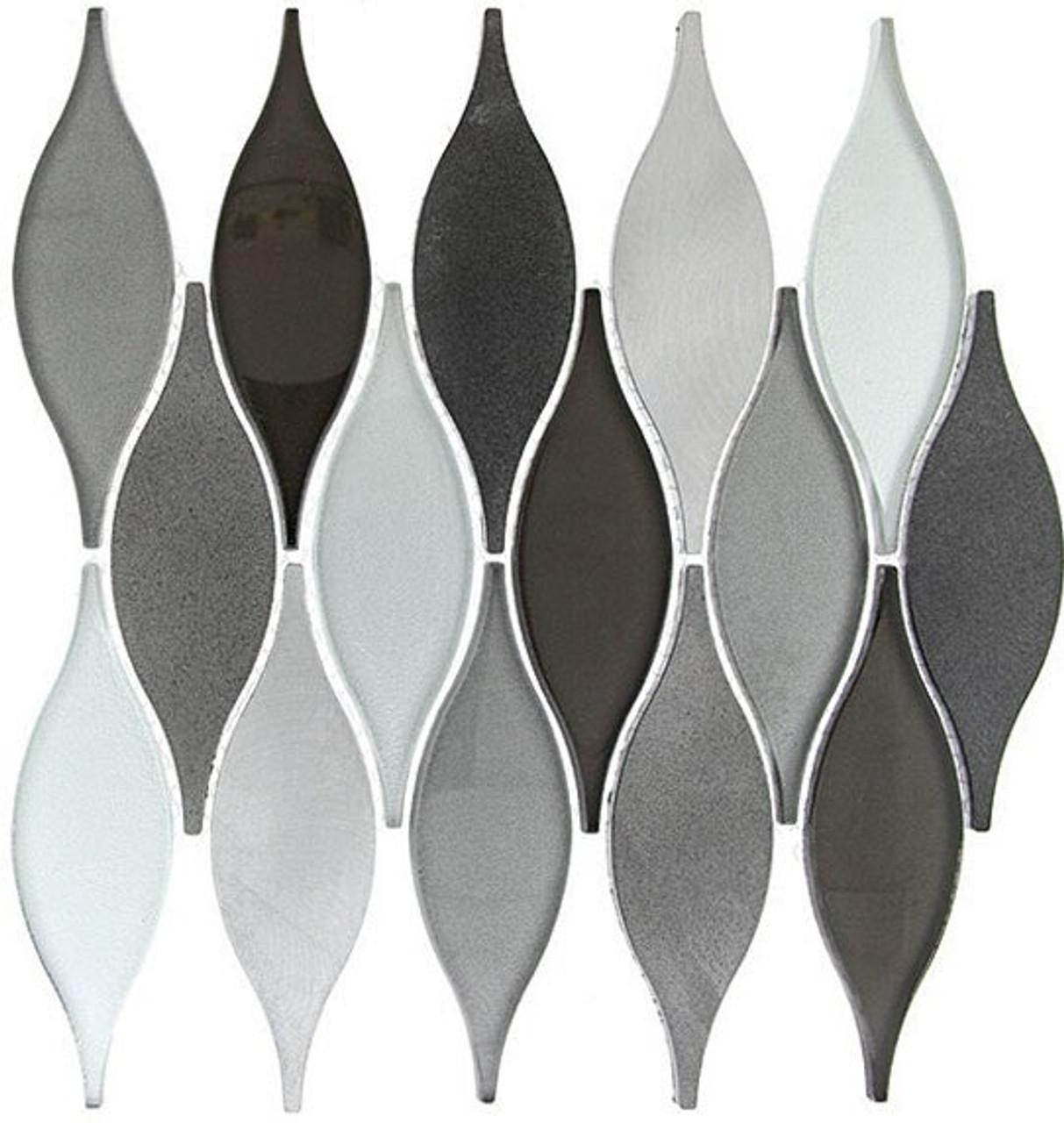 Bella Glass Tiles Chandelier Series Velvet Truffle