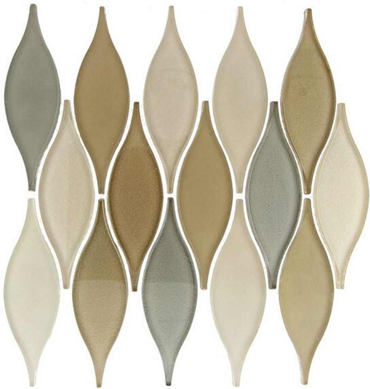 Bella Glass Tiles Chandelier Series Seaside Cliffs