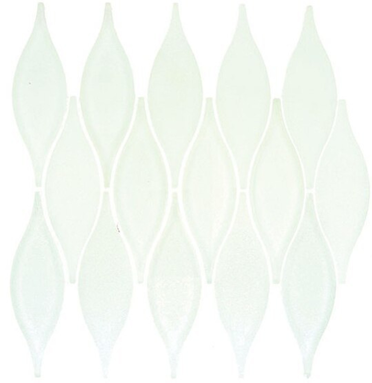Bella Glass Tiles Chandelier Series Marshmallow White