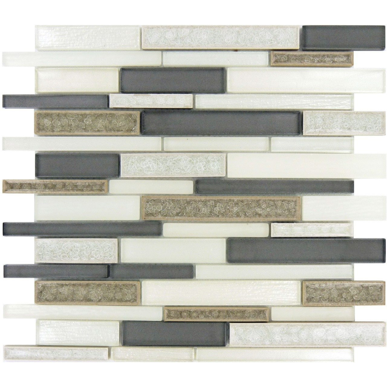 Bella Glass Tiles Bella Muro Series Sutton Frost