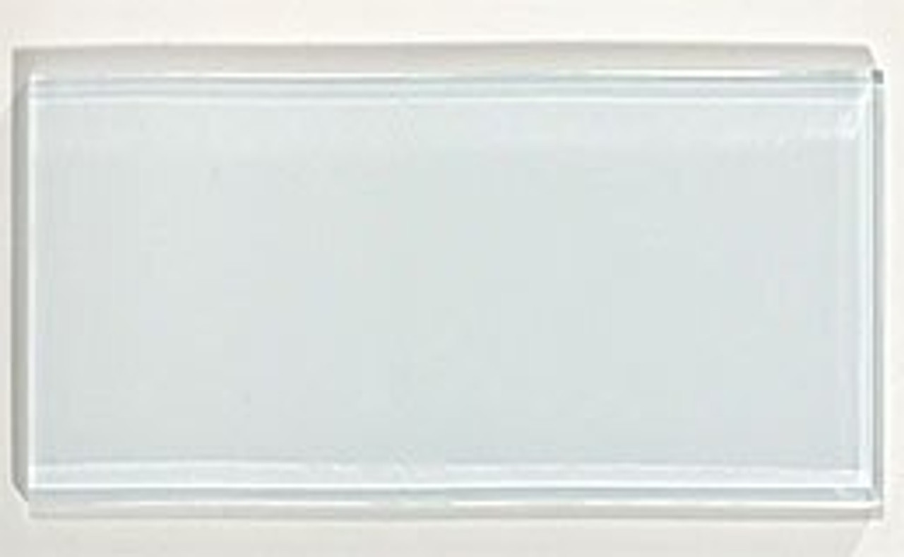 Bella Glass Tiles Glacier Series 3 x 6 Glass Subway Tile