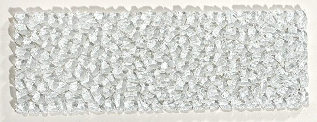 Bella Glass Tiles Glacier Series Raindrop Listello
