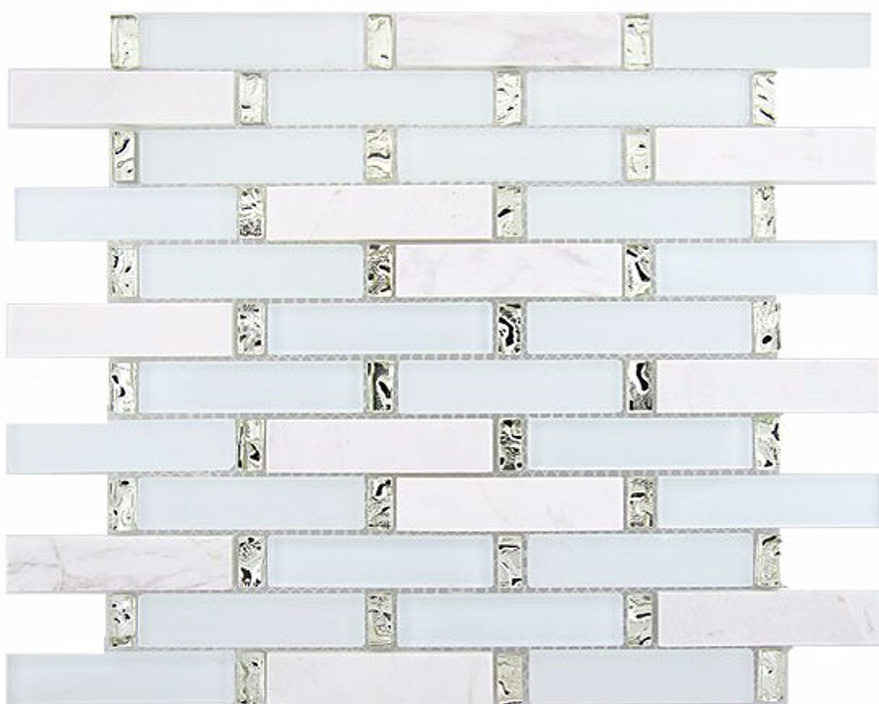 Bella Glass Tiles Interlace Series Ice Basket