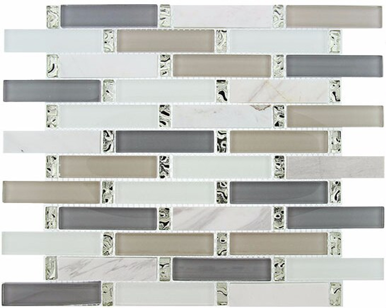 Bella Glass Tiles Interlace Series Waterscape