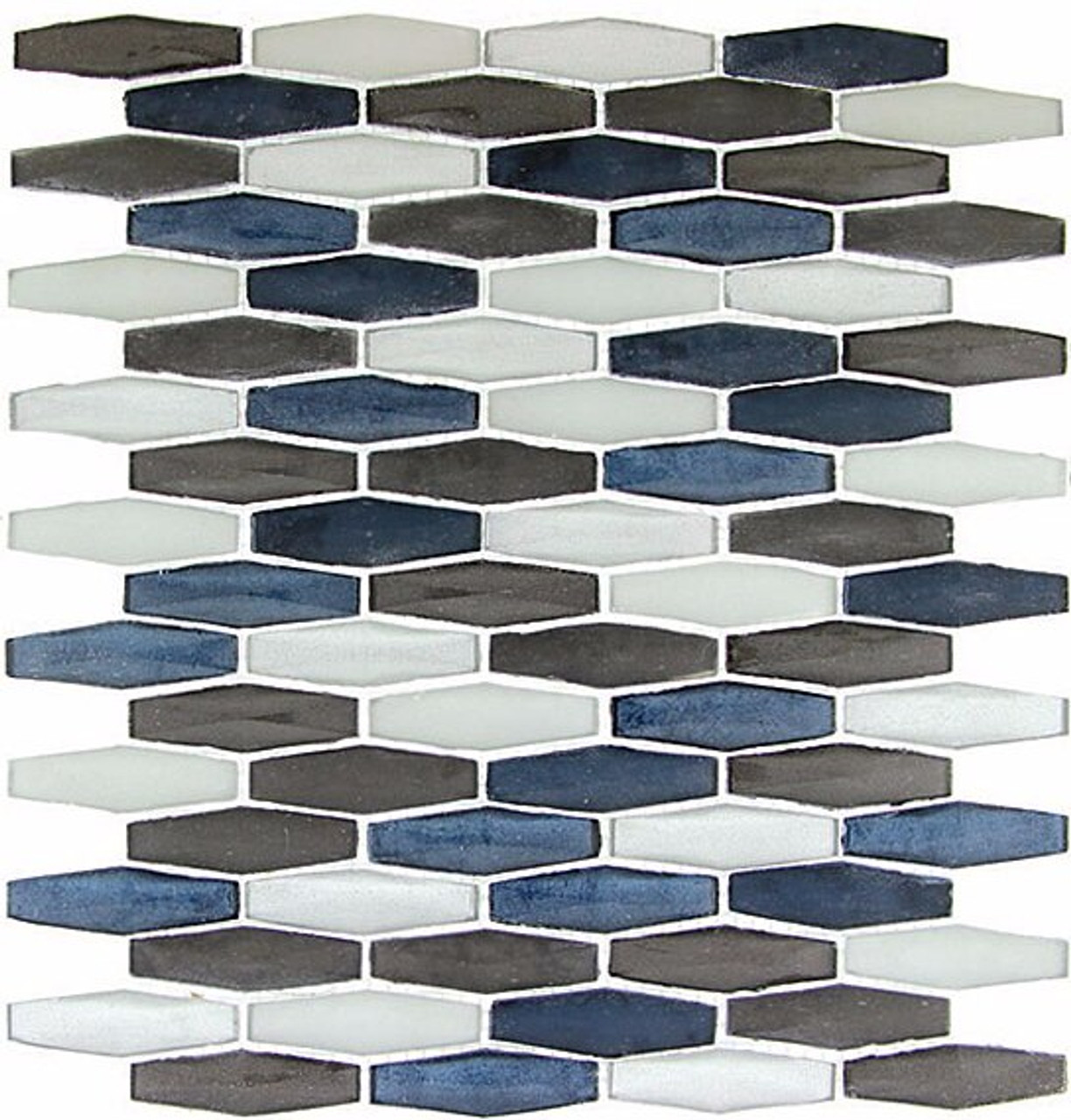 Bella Glass Tiles Modern Pyramids Connecticut Storm