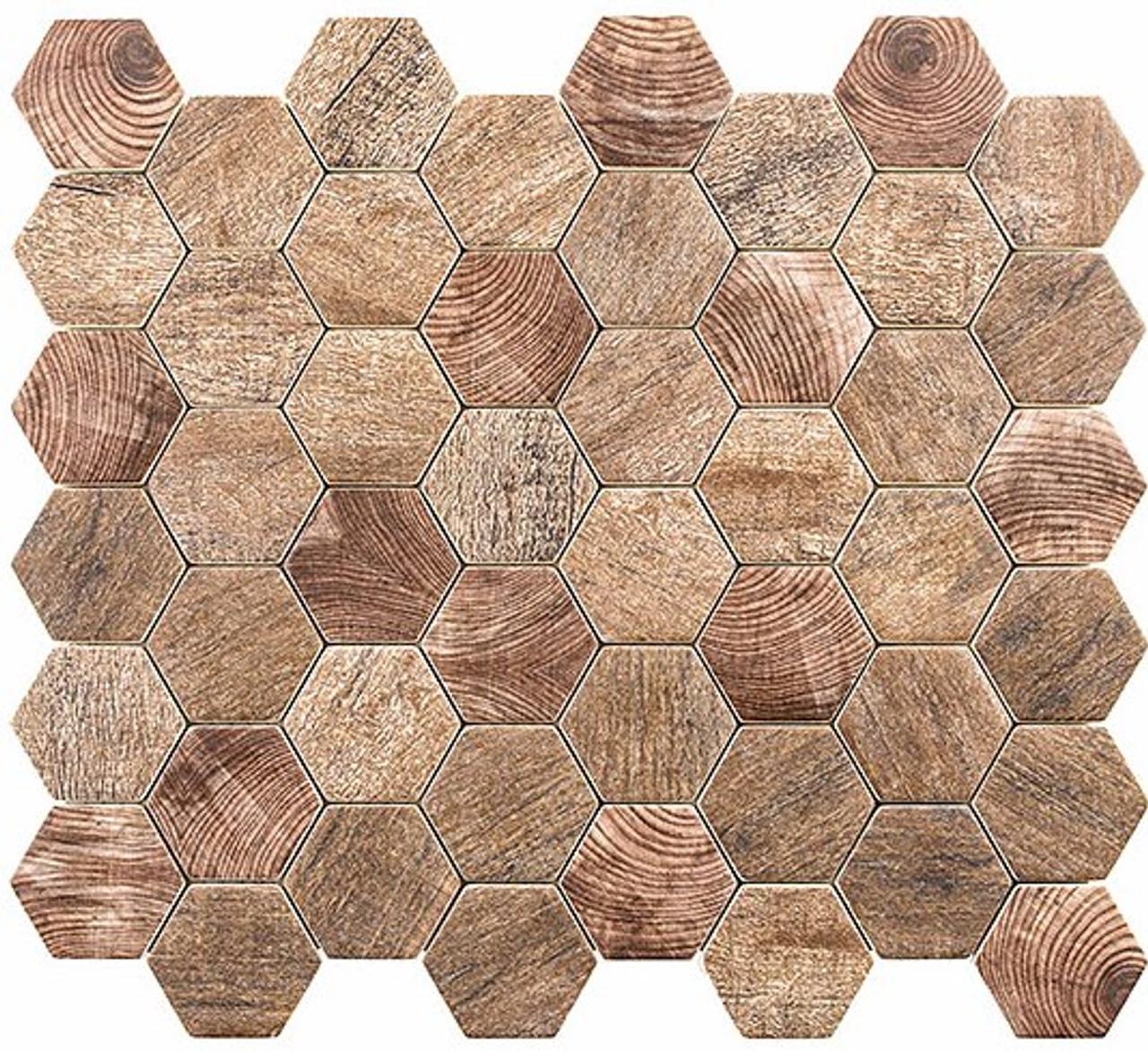 Bella Glass Tiles Woodland Series Autumn Maple