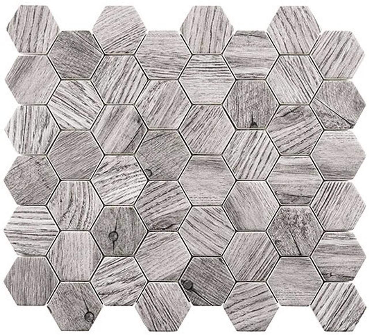 Bella Glass Tiles Woodland Series Russian Pine WDL-4004